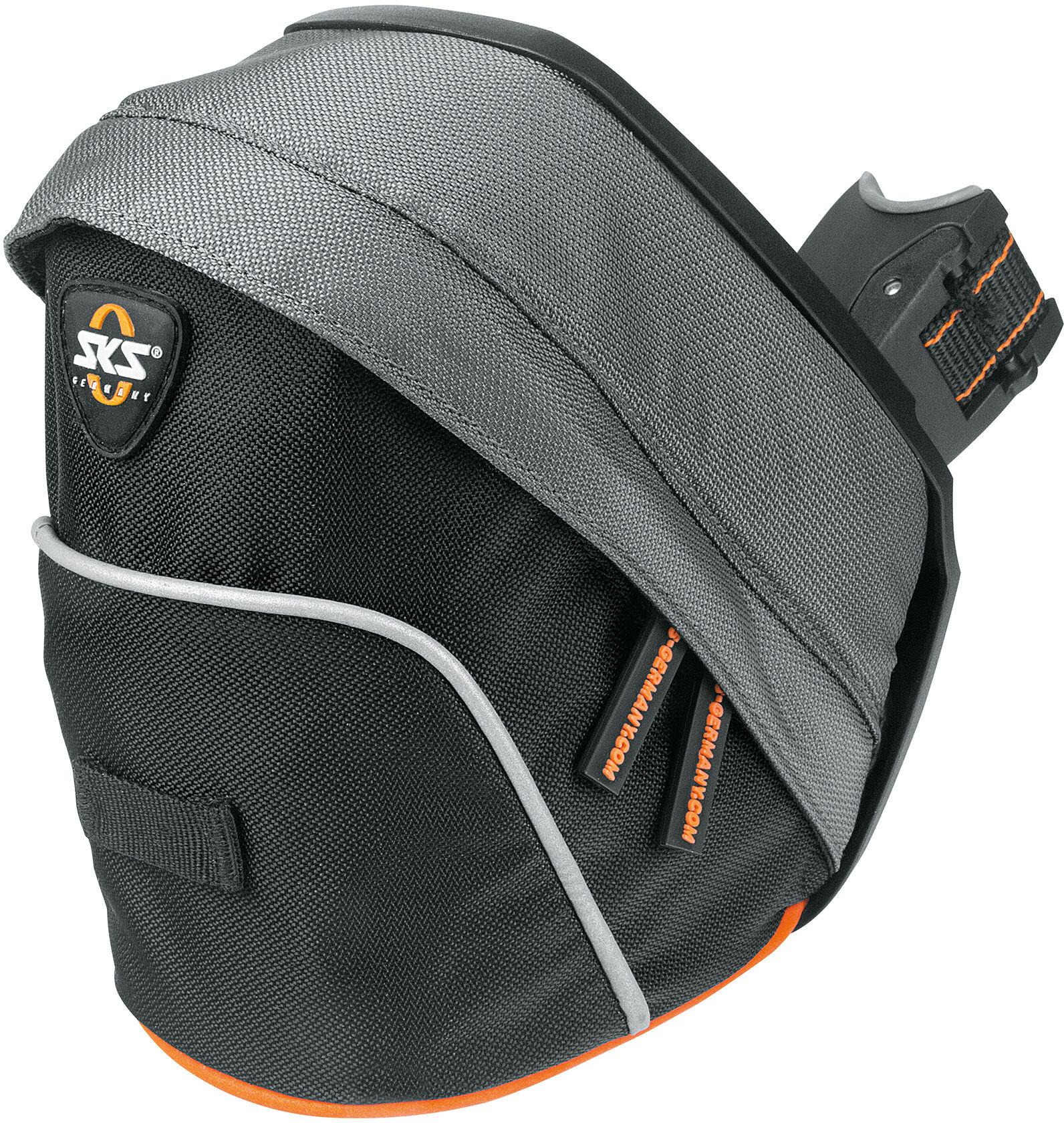sks tour bag sac de selle noir gris orange boutique. Black Bedroom Furniture Sets. Home Design Ideas